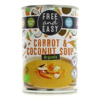 Free & Easy Organic Carrot & Coconut Soup 400g